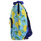 """Рюкзак молодежный YES ST-26 """"Citrus"""" для девушек голубой с рисунком, фото 2"""