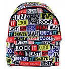 """Рюкзак молодежный YES ST-17 """"Real Life"""" унисекс с разноцветными надписями, фото 5"""