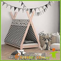 Детская кровать домик Вигвам от производителя (эко товар)