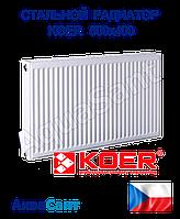 Стальной радиатор Koer 500/400 боковое подключение