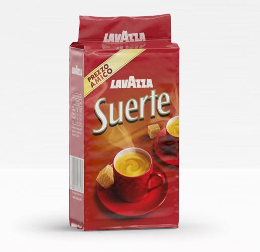 Кофе Lavazza Suerte (250 г) молотый