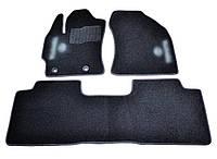 Коврики в салон ворсовые для Toyota Colla/Auris (2013-) /Чёрные, 3шт BLCCR1622 Код:541217706, фото 1
