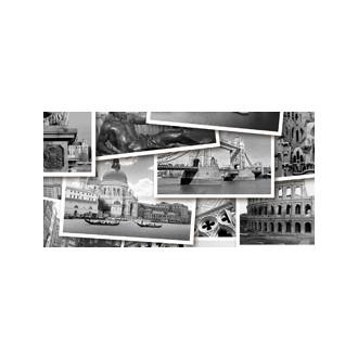 ABSOLUTE Collage черный Декор № 3 600*300