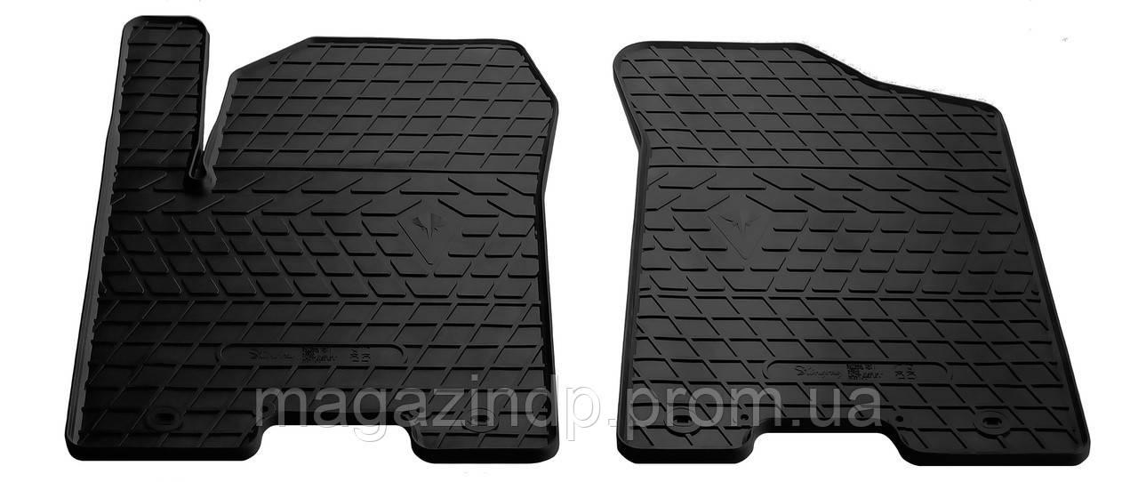 Коврики в салон для Infiniti QX 56 10-/QX80 13- /Nissan Pl (Y62) 10- (design 2016) (передние - 2 шт) 1014192F Код:560822621