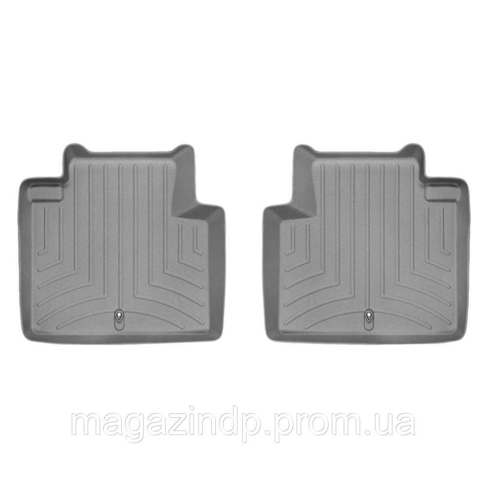 Коврики в салон для Infiniti Q70 2014- серые задние 463042 Код:568588285