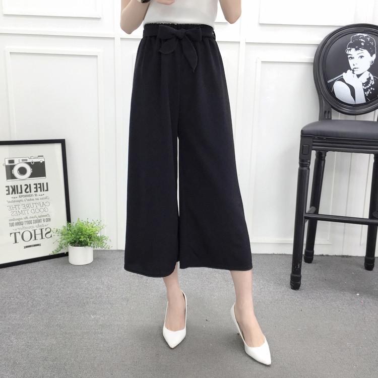 Кюлоты  штаны в  размер универсальный черные