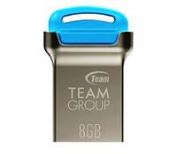 USB ФЛЕШ НАКОПИТЕЛЬ TEAM 8GB C161 BLUE USB 2.0