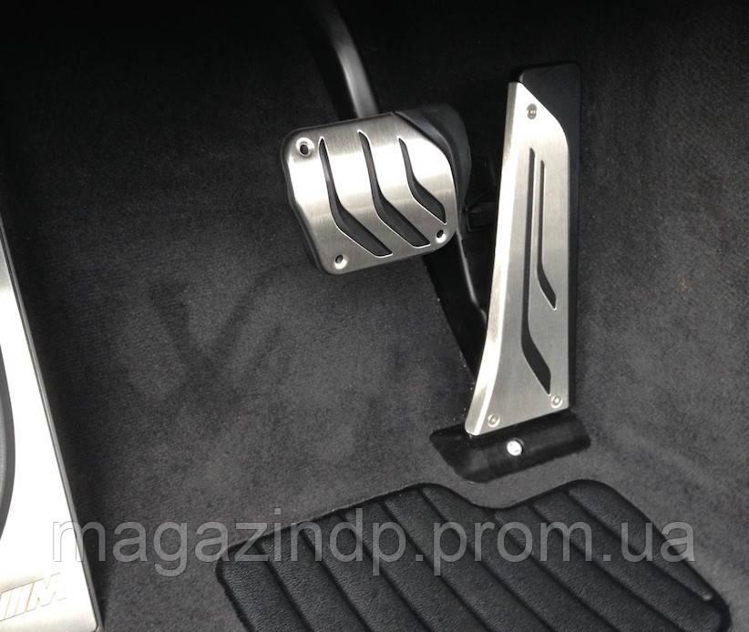 Накладки на педали BMW M-Performance 35002232278, АКПП (2шт) Код:652122813