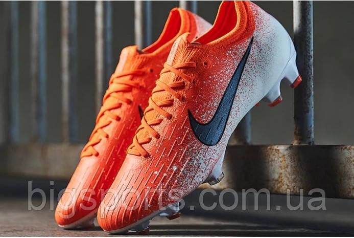 Бутси футбольні чоловік. Nike Vapor 12 Elite FG (арт. AH7380-801)
