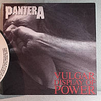CD диск Pantera - Vulgar Display Of Power