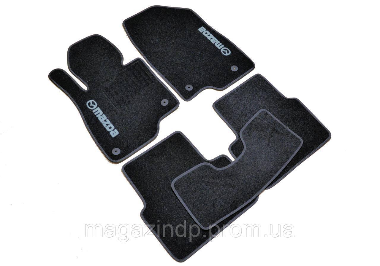 Коврики в салон ворсовые для Mazda 3 (2013-) /Чёрные, кт 5шт BLCCR1310 Код:577127816
