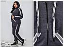 Женский спортивный костюм от производителя размер 54-72 №6154, фото 2