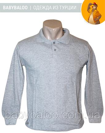 Рубашка Поло для мальчика длинный рукав(от 10 до 13 лет), фото 2