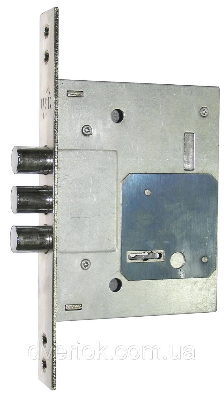 Замок для металлических дверей сувальдный USK 257L