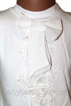 """Блузка """"Бант"""" с коротким рукавом (от 6 до 12 лет), фото 2"""