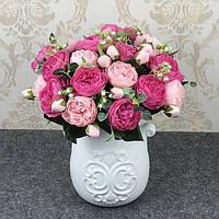 Моделирование в европейском стиле пион корейский стиль 5 роз роз гостиной украшение стола декоративные цветы - 1TopShop
