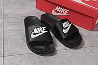 Шлепанцы мужские Nike, черные (16262) размеры в наличии ► [  43 (последняя пара)  ]