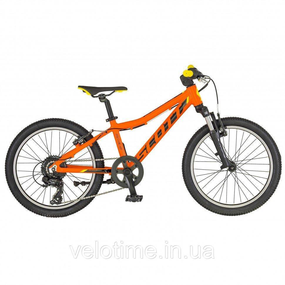 Scott Scale 20 2019  (оранжевый-черный)
