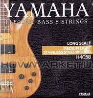 Yamaha Комплект струн для бас-гитары YAMAHA H4050 STAINLESS STEEL MEDIUM LIGHT 5 STRING (45-126)