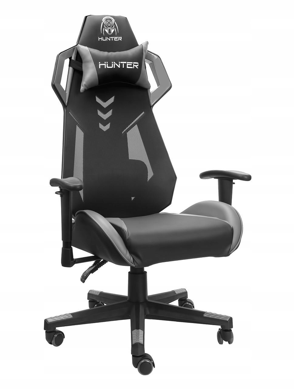 Геймерское кресло HUNTER V-Race Черный Качество ЕС, Польша