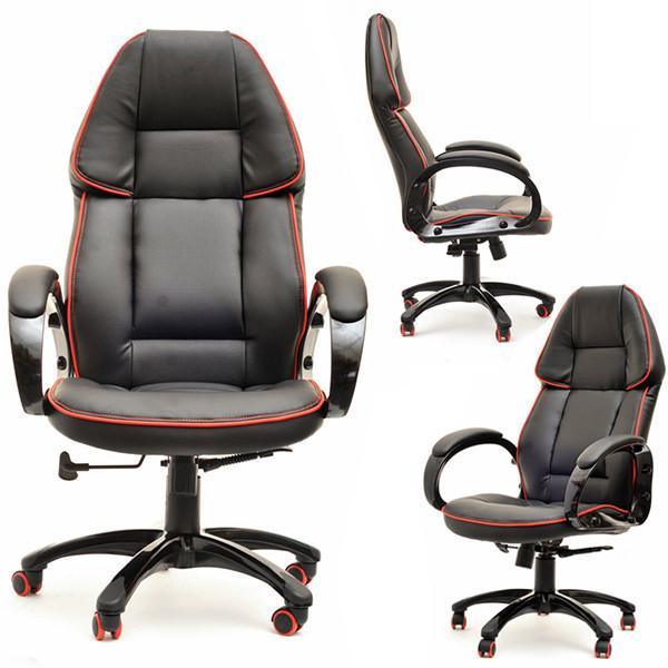 Офисное спортивное кресло RACER 1 Красное Качество ЕС, Польша