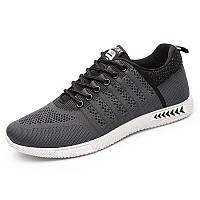 Мужские дышащие вязаные легкие кроссовки для бега - 1TopShop