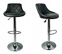 Барный стул с обивкой Hoker X-607 Чёрный Качество ЕС, Польша