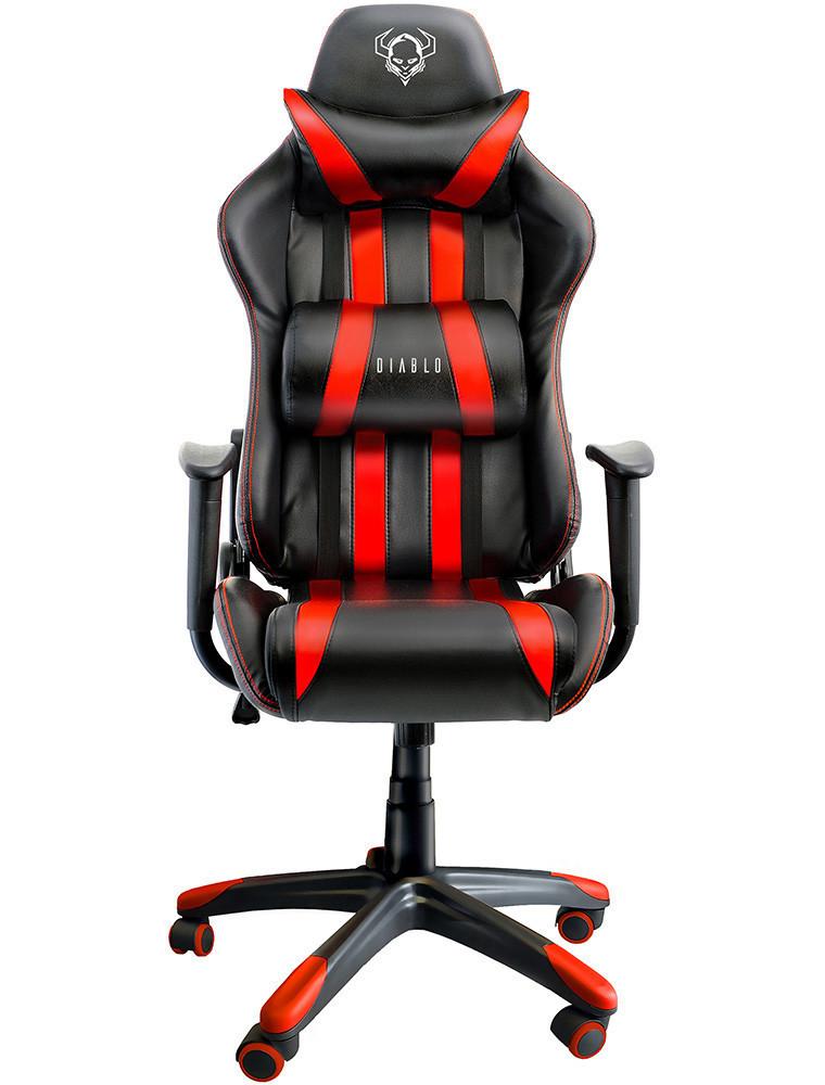 Игровое кресло Diablo One-X Красный Качество ЕС, Польша