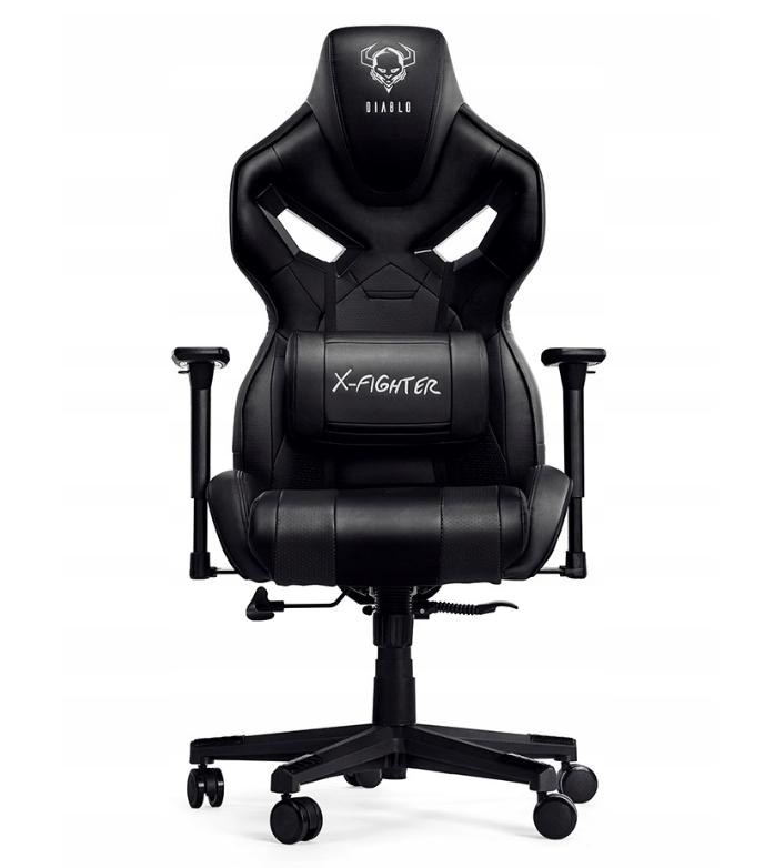 Игровое кресло Diablo X-Fighter Черный Качество ЕС, Польша