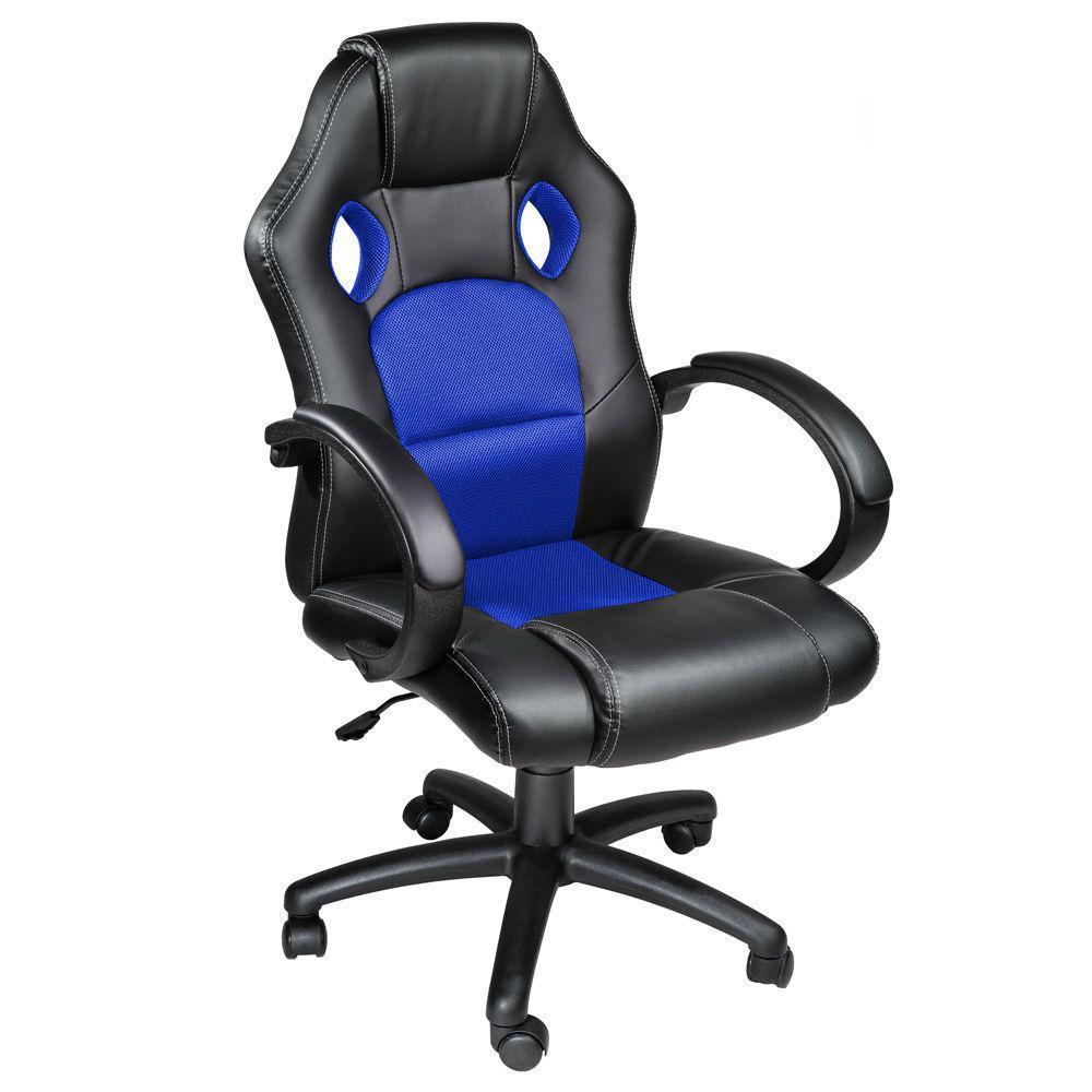 Компьютерное кресло игровое и для офиса Синее Качество ЕС, Польша
