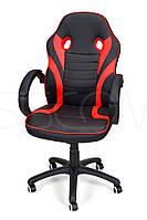 Кресло компьютерное игровое или для офиса Calviano Race Gamer КРАСНОЕ Качество ЕС, Польша, фото 1