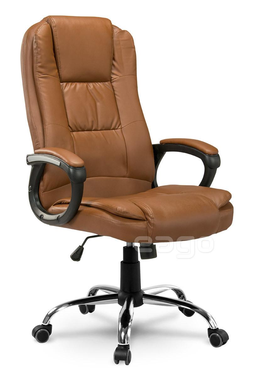 Кресло офисное EG-230 коричневое Качество ЕС, Польша