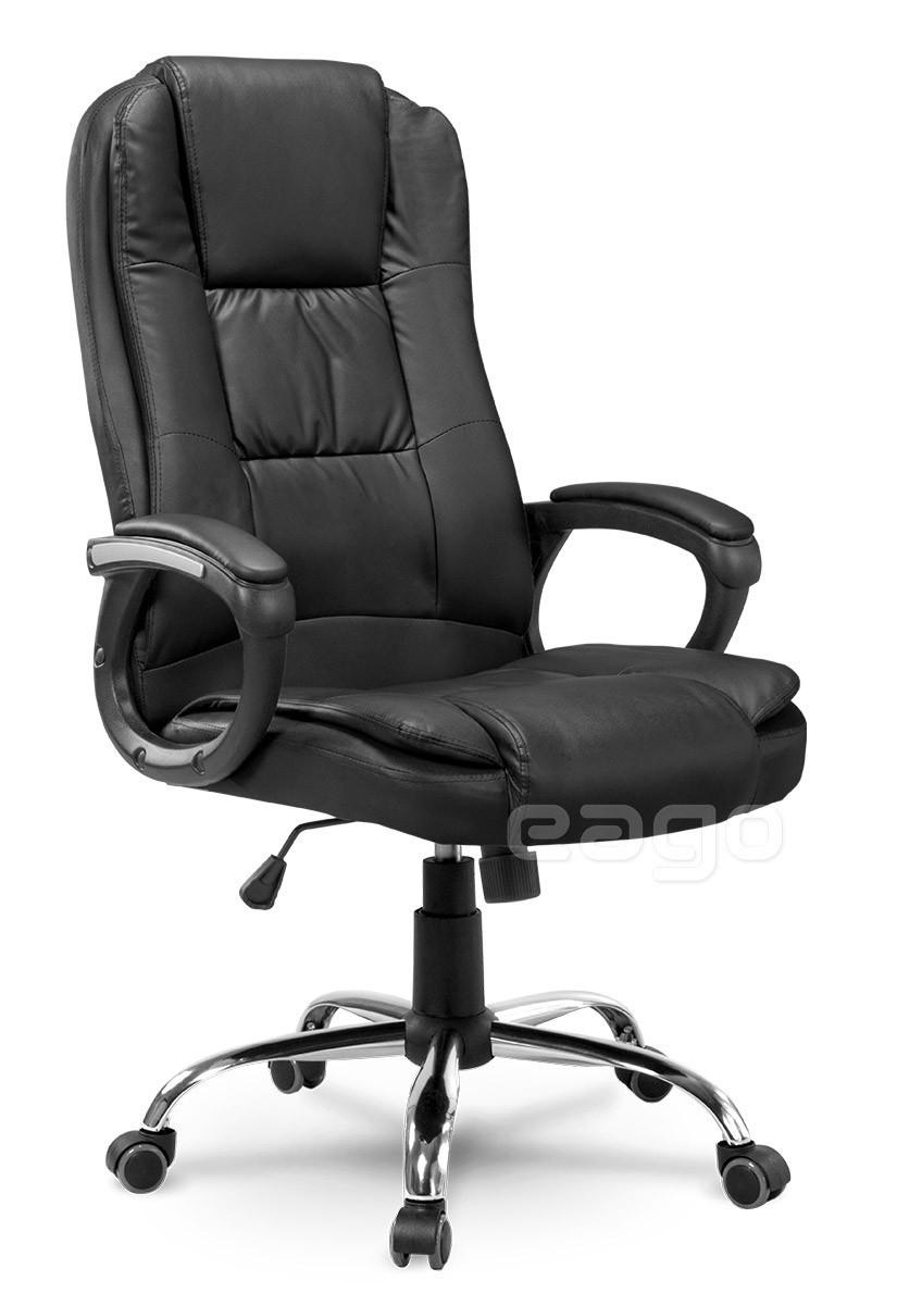 Кресло офисное EG-230 три цвета Черный Качество ЕС, Польша