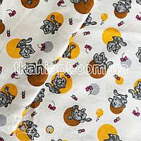 Ткань Фланель детская (котята)