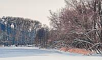 Фотокартина на холсте Зимний Псел  в Сумах  50х70 см