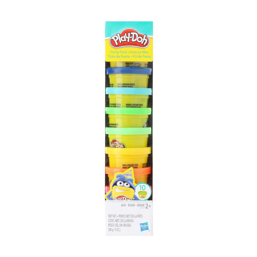 Набор для творчества Плей-До 10 минибаночек  Play-Doh Party Pack