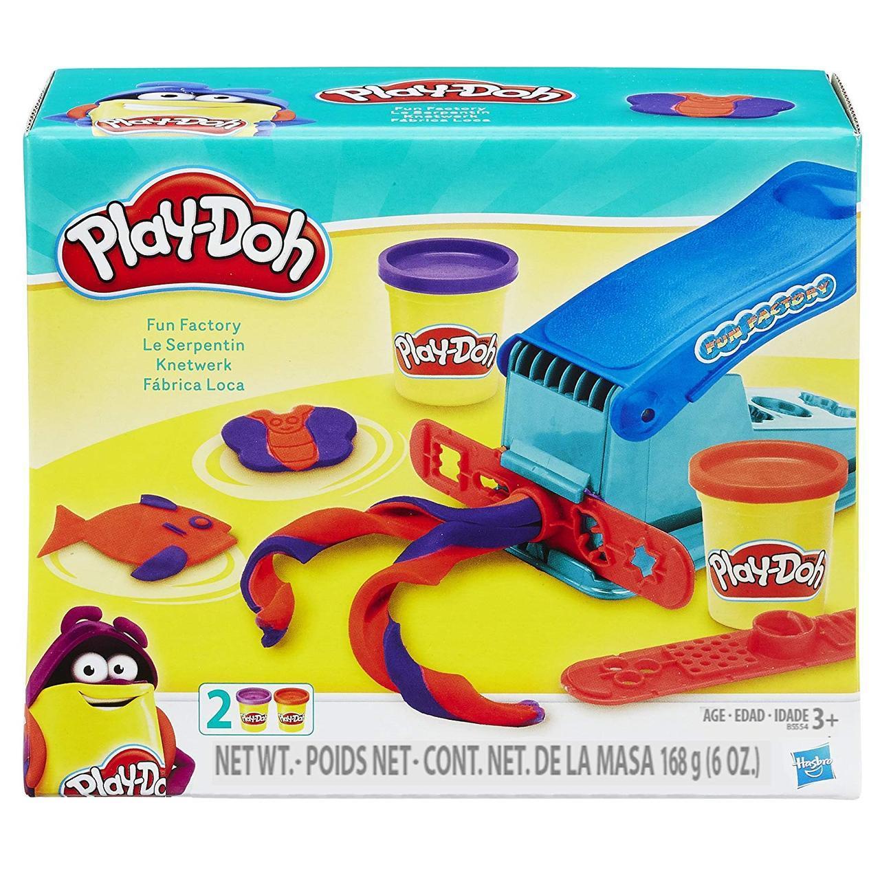 Набор для творчества Плей-До Веселая Фабрика  Play-Doh Basic Fun Factory