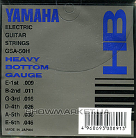 Yamaha Комплект струн для электрогитары YAMAHA GSA50H ELECTRIC HEAVY BOTTOM (09-46)