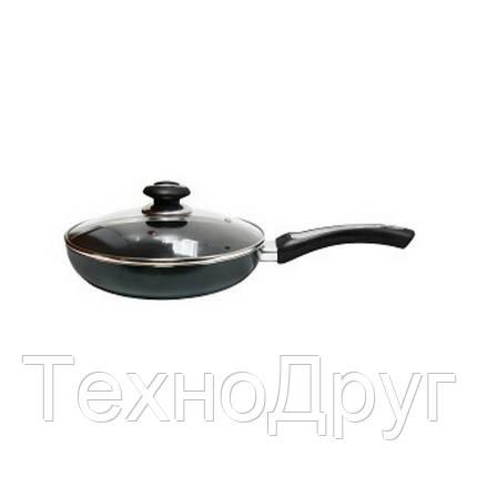 Cковорода с крышкой 28 см Vincent VC-4458-28-mix, фото 2