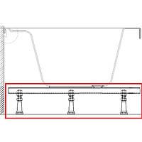 Ravak U 75 опора для ванной шириной 75 см.