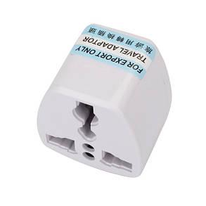 Нам ЧН в Universal Plug адаптер 2 штыря плоских штыря - 1TopShop, фото 2