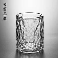 Японский термостойкий стакан Зеленый Чай Чашка ручной работы Hammer Шаблон Большой стакан Виски из стекла Стакан для напитка - 1TopShop