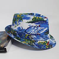 Пляж Шаблон Ткань Ведро Шапка Мужская Отдых на море Зонт Повседневная Шапка - 1TopShop
