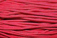 Полиэфирный шнур с сердечником, 5 мм (200 м), красный