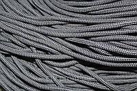 Полиэфирный шнур с сердечником, 5 мм (200 м), т. серый
