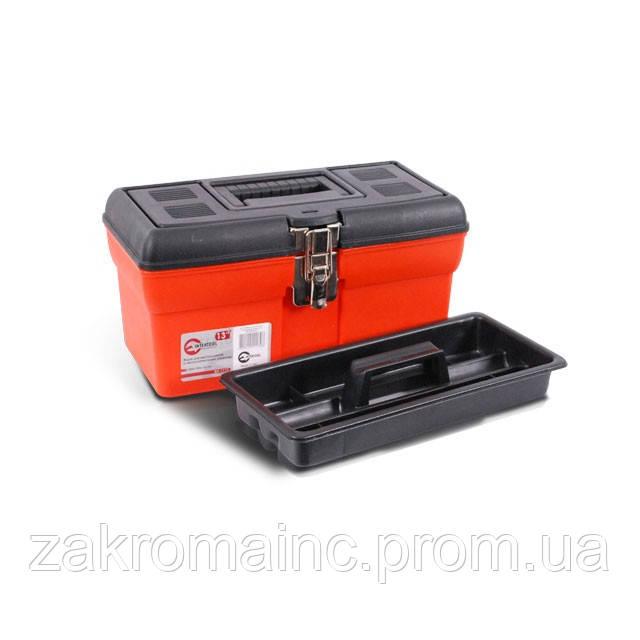 Скринька для інструментів з металевими замками INTERTOOL BX-1113