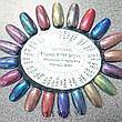 Втирка 19795 пигмент Metalic Multi зеркал. с мелкими мульти блестками TR19 дымный фиолет 0,3г, фото 3