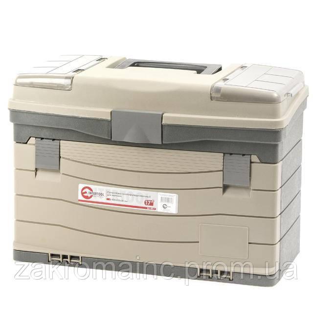 Органайзер пластиковый многофункциональный INTERTOOL BX-4017