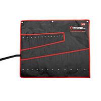 Чохол для гайкових ключів 25 кишень INTERTOOL BX-9011