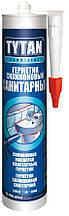 Силикон Tytan EURO-LINE санитарный белый 290мл